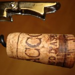5. Notice the fatter end of the cork that helps contain the additional pressure in Moscato d'Asti.