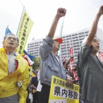 Hatoyama unveils base move within Okinawa, offers apology