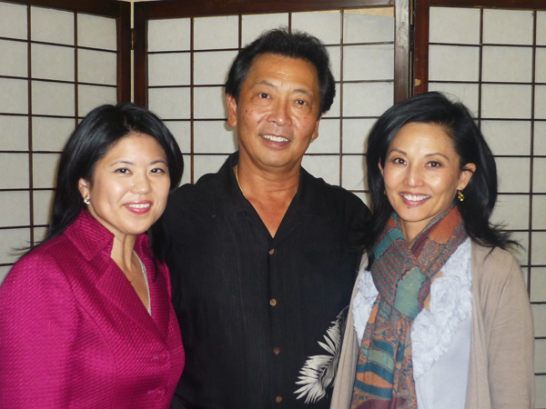 """SPECIAL GUESTS — Jana Katsuyama, Lane Nishikawa and Tamlyn Tomita (from left to right) participated in the event. Nishikawa and Tomita spoke about their film """"Only the Brave."""""""