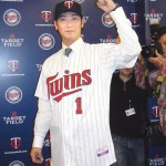Nishioka vows to repay Minnesota with results