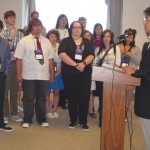 Students act as bridge to Japan on memorial trip