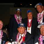 Nikkei veterans meet with other medal recipients