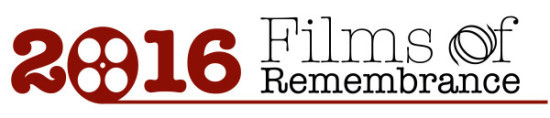2016 Films of Remembrance LOGO
