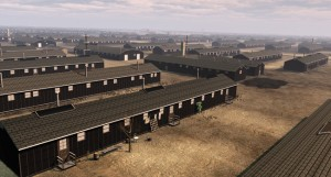 A virtual reconstruction overview of the Topaz (Central Utah) wartime concentration camp. courtesy of Elizabeth Lee