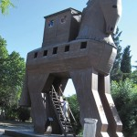 The Trojan Horse replica. photo by The Kaeru Kid