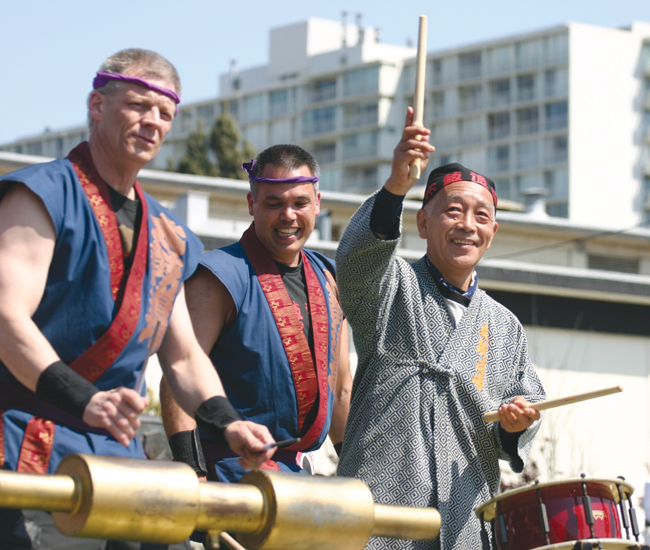 Seiichi Tanaka, the father of American taiko