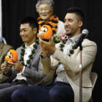 Community welcomes Nikkei Giants at S.F. Japantown reception