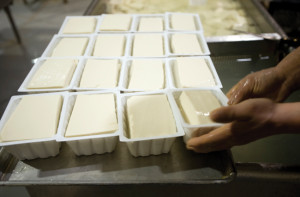 COMMUNITY INSTITUTION CLOSES — Blocks of Sacramento Tofu, shown in this 2009 photo, will no longer be produced after close to seven decades.     photo: Sacaramento Bee / Paul Kitagaki Jr.