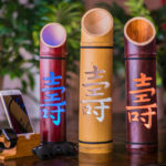 Handcrafted bamboo art