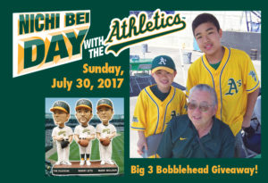 Nichi Bei Day with the A's