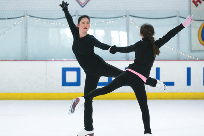 REFLECTING UPON A GOLDEN MOMENT: Olympic icon Kristi Yamaguchi prepares for 25th anniversary performances