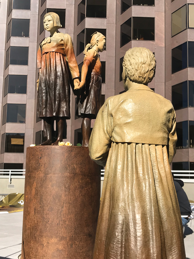 San Francisco 'Comfort Women' Memorial unveiled