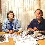 WHAT NOW? — Fumie and Masao Tanaka lost their house to the massive Sept. 9 San Bruno fire, which destroyed nearly all their possessions, phto by Tomo Hirai