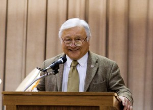 SPEAKING OUT — Rep. Mike Honda at the event. photo by Andy Frazer