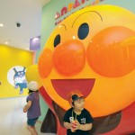 Anpanman theme park opens in quake-hit Sendai