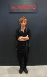 Designer h.Naoto photo by Tomo Hirai/Nichi Bei Weekly