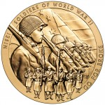 Congressional Gold Medal. courtesy of the United States Mint
