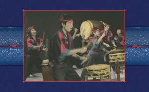 """San Jose Taiko"" by Curt Fukuda & Lissa Jones, photo by Barbara Hiura"