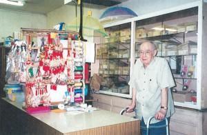 A LASTING LEGACY— Eugene Okada at the Yorozu store on Riverside. Okada died Sept. 21. He was 93. Okada was the last owner of the family-owned Yorozu.courtesy photo