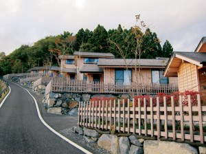 BUILDING HOMES, AND REBUILDING LIVES — (Left): the Asian Real Estate Association of America contributed $400,000 toward building the Shirahama Housing Project in Ishinomaki, Miyagi Prefecture.photo by Patricia Okamoto