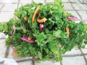 Kale Salad. photo by Ryan Tatsumoto