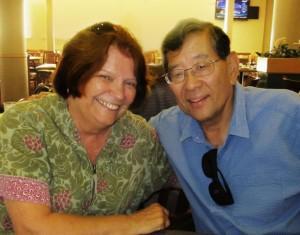 Lorrie Toohey and Wayne Maeda