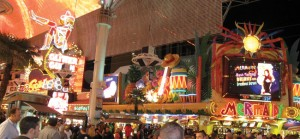 Fremont Street. photo by The Kaeru Kid