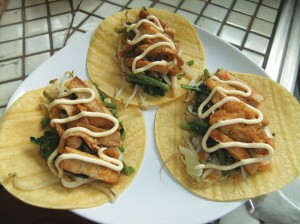 Korean Style Tacos. photo by Ryan Tatsumoto