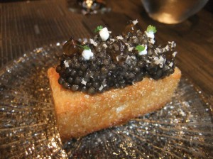 Caviar. photo by Ryan Tatsumoto