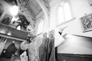 Father Eric Freed  photo by Mark McKenna/courtesy of St. Bernard Church in Eureka