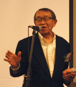 George Yoshida performed at the 2013 National Japanese American Historical Society awards dinner in 2013. photo by Ben Hamamoto
