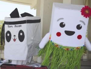 Tofu Panda and Cutie Tofutti. photo by William Lee