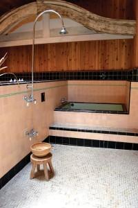 the restored Miyazaki Bath House.