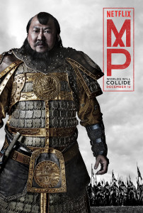 "Benedict Wong stars as Kublai Khan in ""Marco Polo."" courtesy of   Netflix"