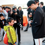 Giants honor Japanese heritage as postseason hero Ishikawa in limbo