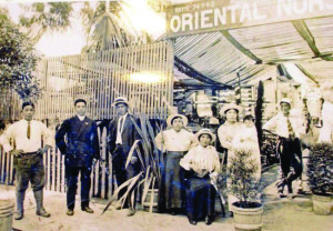 The Ikkanda Nursery in the early 1900s in Sawtelle. photo courtesy of Jack Fujimoto