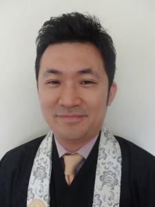 Rev. Yushi Mukojima of Mountain View Buddhist Temple courtesy of Yushi Mukojima