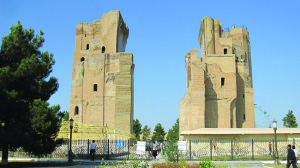 Remains of Timur the Great's Palace entrance