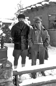 Brothers Shigeo (L) and Kakuro, in Santa Fe, N.M. photo courtesy of the Shigenaga family