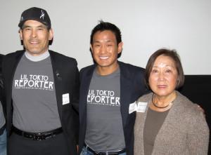 Chris Tashima, Jeffrey Gee Chin and Carole Fujita. photo by Tomo Hirai/Nichi Bei Weekly