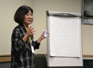 Marsha Aizumi. photo by Heather Ito/Nichi Bei Weekly