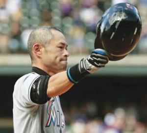 Ichiro Suzuki. Kyodo News photo