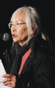 Judy Hamaguchi. photo by Kahn Yamada