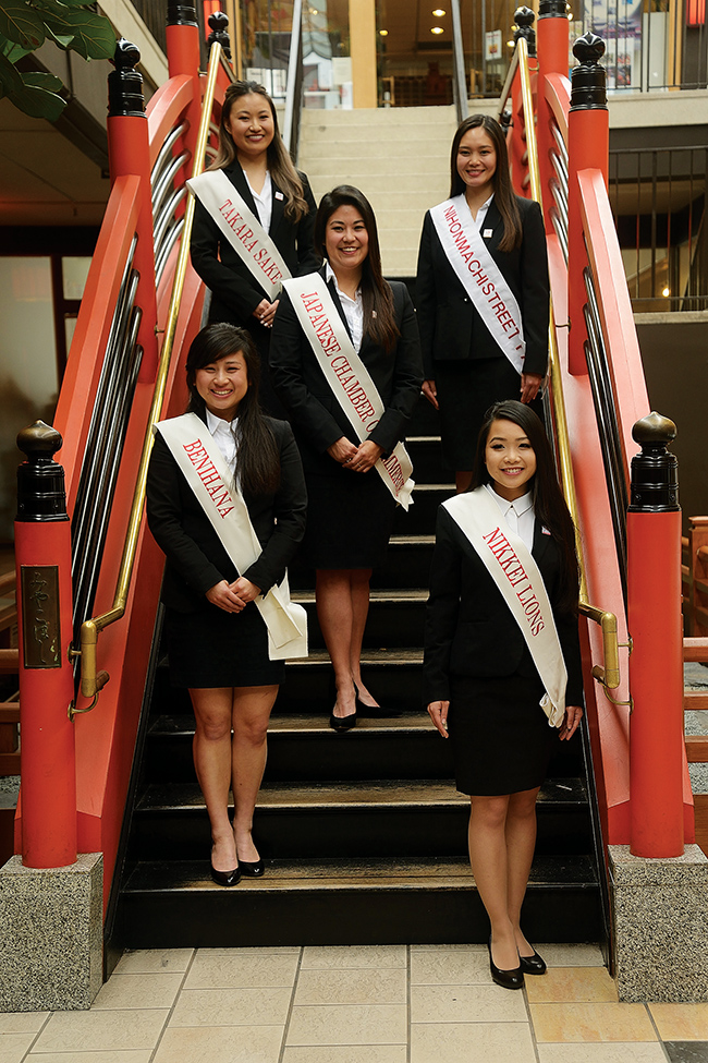 S.F. Cherry Blossom Queen candidates announced
