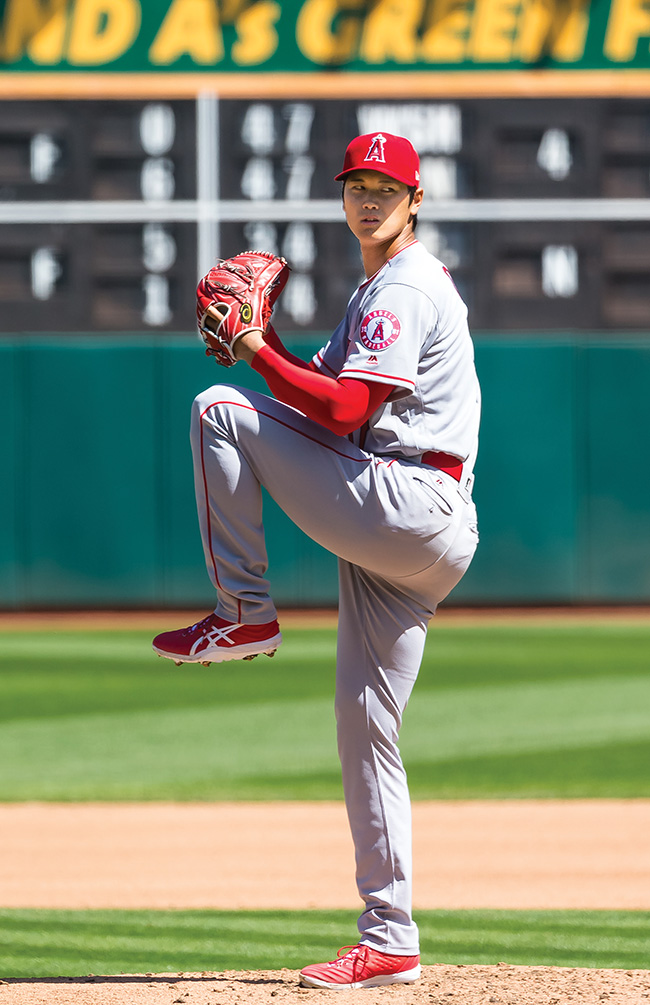 'Japanese Babe Ruth' Shohei Ohtani dominant on the mound, at the plate