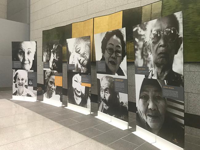 'Comfort women' exhibit opens in State Bldg. in S.F.