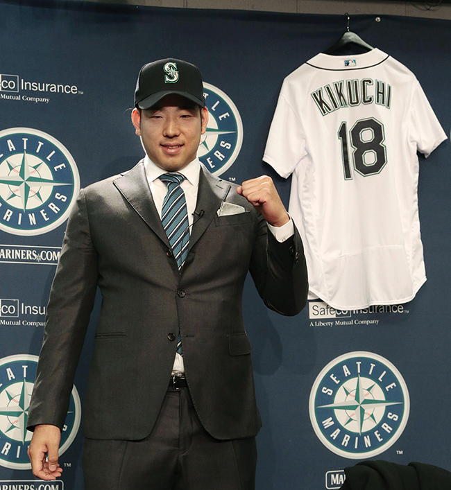 New Mariner Kikuchi says team 'needed me the most'
