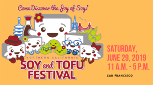 Soy and Tofu Festival June 29, 2019