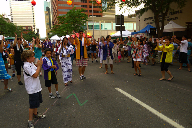 Bon Odori is a tradition even far from the West Coast