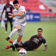 Cameron Iwasa perseveres and scores with hometown team